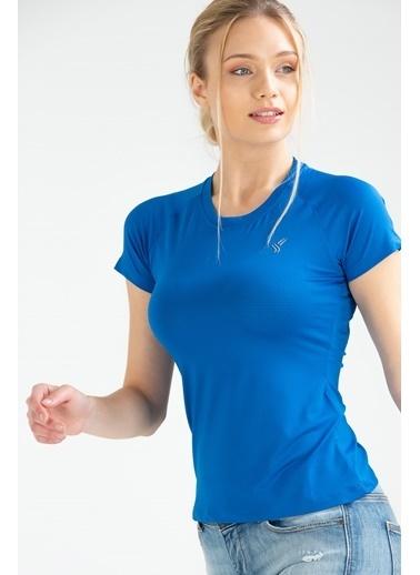 Speedlife Bead Kadın Tişört Saks